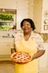 When I stopped by to visit Grandma Esther, the redolent scent of her cherry pie reminded me of my youth when I spent summers at her house.