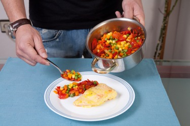 Anthony cooked healthier meals in order to reduce his cholesterol levels.