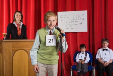 David was the first student to represent his school district in the Spelling Bee Regional Finals.