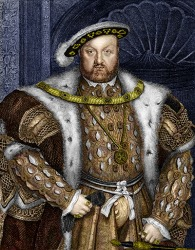 The patriarchal reign of King Henry VIII brought about the Protestant Reformation.