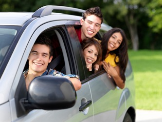Josh's mom told him that he may borrow her car to drive to the mall but he could take no more than three of his friends.