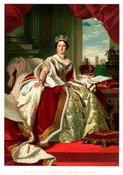 Queen Victoria's reign lasted from 1837 - 1901.