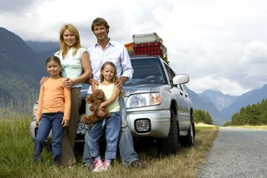 The Millers took a family road trip to visit their relations on the other side of the country.