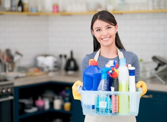As a result of being the best in town and having many loyal clients, Christina is paid an impressive remuneration for her housekeeping services.
