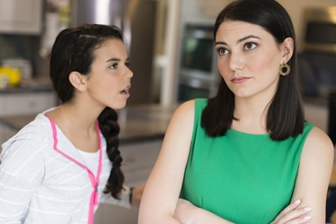 Since Erica lied about who she was meeting, her mother had to renege on her promise to drop her off at the mall.