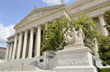 The National Archives in Washington DC is a repository of documents and records pertaining to the U.S. government.