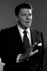 Ronald Reagan was a Republican and the 40th president of the United States.