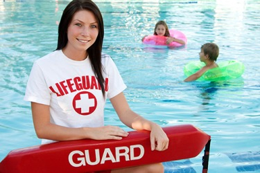 As a lifeguard, Alexis is trained to rescue swimmers in distress.