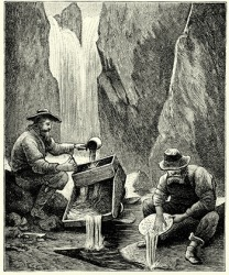 Prospectors during the late 1800's in the Rocky Mountains were resolute in their pursuit of finding gold and striking it rich.