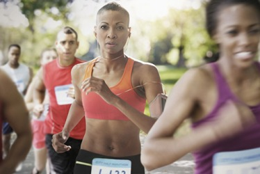 Jackie resolved to beat her previous time in the annual half marathon.