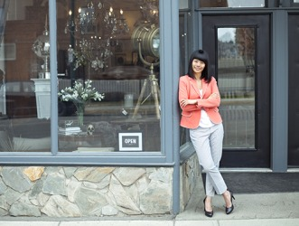 Huan built a respectable home decor business despite the challenges she has faced.