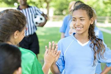 An important lesson taught in youth sports is to be respectful to your teammates, coaches and opposing team.