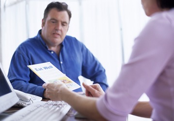 If Jeff has a responsive outlook toward the treatment plan then he will have more success in his efforts to lose weight and lower his cholesterol.