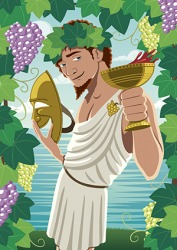 The resurrection of Dionysus by his father Zeus is an intricate story in Greek mythology.