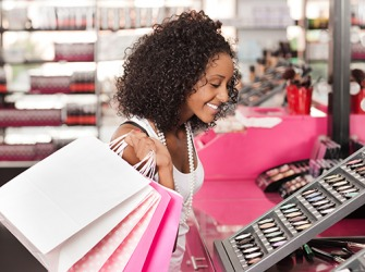 Janay likes to shop with this particular retailer because it carries her favorite brand of skincare and cosmetics.
