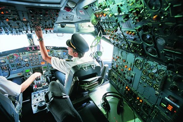 A person needs to have excellent memory retention in order to become a commercial airline pilot.