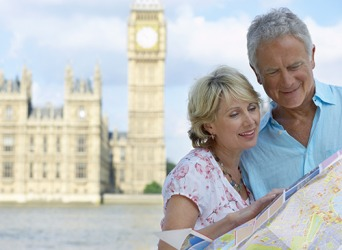 When Walter became a retiree, he fulfilled his dream of taking a one month tour of Europe with his wife.