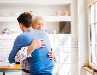 Charles was grateful for the chance to reunite with his son so he could apologize and make amends for the mistakes he made in the past.
