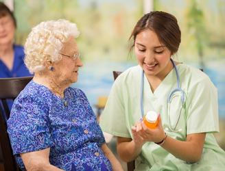 The risk assessment of providing health insurance coverage for the elderly is high.