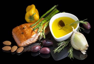 Eating a mediterranean diet can lower your risk factor of having a heart attack or stroke.