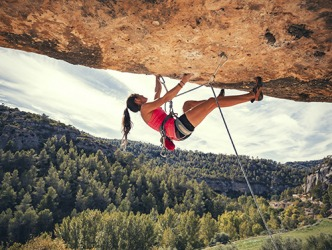 The risks associated with rock climbing are part of the appeal.