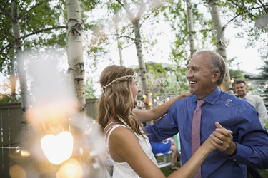 It is a rite of passage that the father of the bride has the second dance with his daughter at the wedding reception.