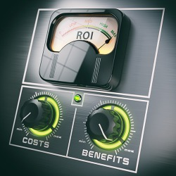In order to maximize your ROI, it is important to consider the costs vs. benefits.