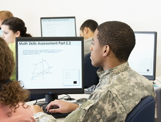 Calvin joined the ROTC for the higher education and career advancement opportunities it provides.