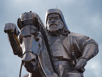 Genghis Khan was a ruthless conquerer who expanded his Mongol Empire across Asia in the 13th century.