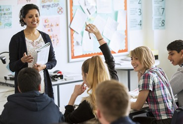 The high school teacher's sagacity empowered her students to reach their highest potential.