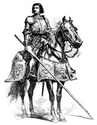 Chevalier de Bayard was a French knight known to be sans peur et sans reproche (without fear and beyond reproach).