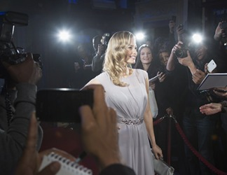The actress knew that walking the red carpet with a sartorial flair would be expected because of her recent fame.