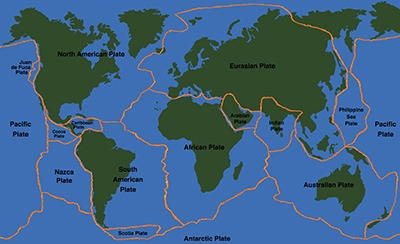 One aspect of seismology is studying the fault lines of major and minor plates on our planet.