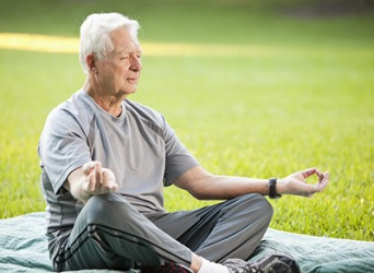 Meditation can boost self development because it helps people gain awareness of oneself and the world around them.