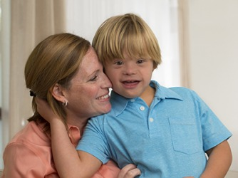 Just because her son Alan has Down Syndrome, Becky is raising him to lead a life that is not self-limiting in any way.