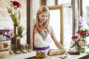 Lilly is a self taught pastry chef with a successful neighborhood bakery and coffee shop.