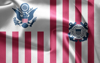 Semper-paratus is the motto for the U.S. Coast Guard.