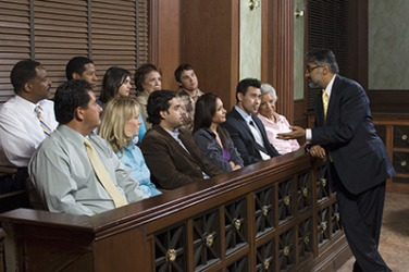 The judge sequestered the jury for the trial because of the extensive media coverage on the high profile case.