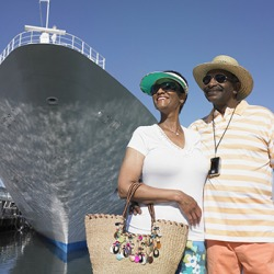 Mabel and Arthur take a sesquiennial cruise as a part of their retirement travel.