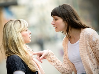 Heather realized that she needed to sever her friendship with Debra when she sensed some aggression coming from her.