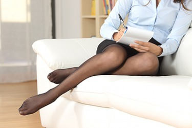 The shades of meaning between stockings and nylons depends on where a person is from and their age.