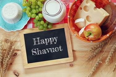 Shavuot is a Jewish holiday that includes eating dairy products as part of the festivities.