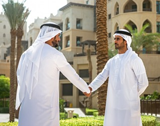 The sheik is a very successful businessman so he is able to sponsor several humanitarian organizations in his country.