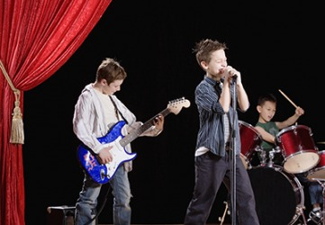 The boys were a favorite to win the top prize in the school talent show.