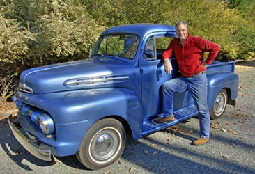 Dennis kept his '51 Ford F1 Pickup in showroom condition.
