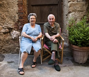 Signor Salvadori has lived in Tuscany all of his life.
