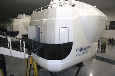 The TH-1H Weapons System Trainer is used by the military to replicate flight simulations for helicopters.