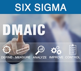 The Six Sigma Philosophy follows the methodology DMAIC (Define, Measure, Analyze, Improve and Control).