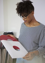Sleeving vinyl records is important to protect them from damage when not being played.