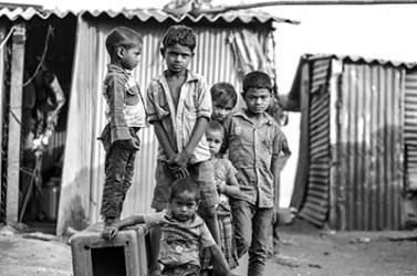 These children could be considered as slumdogs which is why it is important for the more well off people of the world to help the poor.